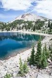 гора 2 озер Стоковое Фото