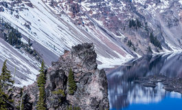 Гора отражения Стоковая Фотография