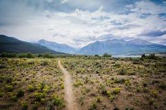 Гора однопутная Стоковые Фото