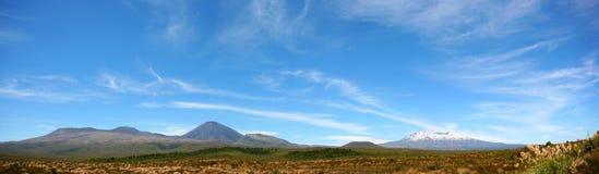 гора панорамная Стоковое Фото
