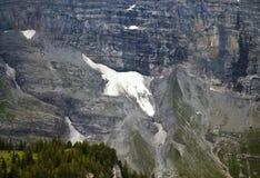 Гора падения льда Стоковое Изображение
