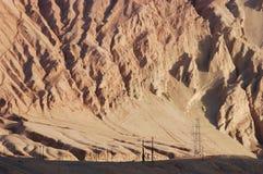 гора пламени Стоковое фото RF