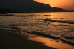 гора пляжа Стоковое Изображение RF