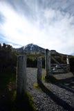 Гора покрытая снегом Стоковое Изображение RF
