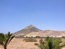 Гора Порту Santo Стоковое фото RF