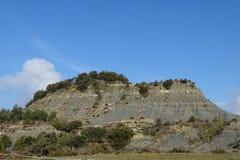 Гора подробно от Tavertet, Каталонии Стоковые Фото