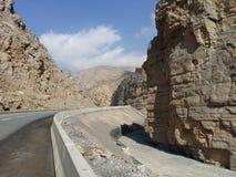 Гора Рас-Аль-Хайма Стоковое Изображение RF