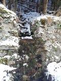Гора, река стоковое фото