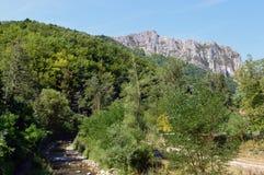 Гора реки Стоковое Фото