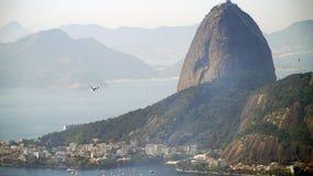 Гора Рио-де-Жанейро Sugarloaf, Бразилия стоковые фото