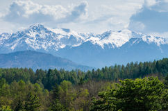 гора Румыния ландшафта стоковая фотография rf