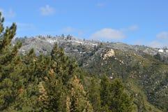 Гора Сан Бернардино в зиме Стоковая Фотография RF