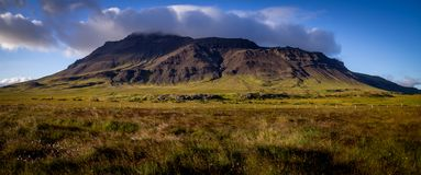 Гора сельской местности Исландии Стоковая Фотография RF