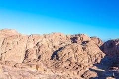 Гора Синай, держатель Моисей в Египте Стоковая Фотография
