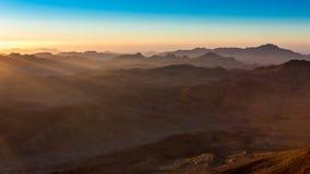 Гора Синай, держатель Моисей в Египте Стоковое Фото
