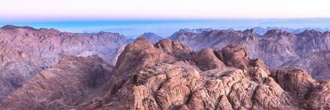 Гора Синай, держатель Моисей в Египте Стоковое фото RF