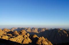 Гора Синай - Египет Стоковая Фотография