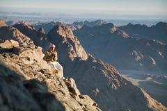 гора Синай Моисея бедуина Стоковая Фотография RF