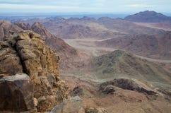 гора Синай раннего утра Стоковая Фотография RF