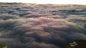 Гора Синай, рассвет Стоковые Изображения RF