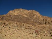 гора Синай Стоковая Фотография