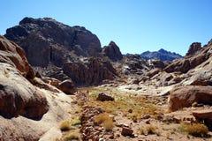 гора Синай Стоковые Изображения RF