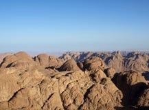 гора Синай Стоковое Фото