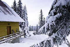 гора снабжения жилищем Стоковые Фото