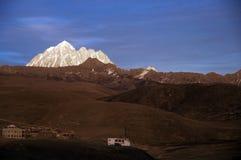 Гора снега Стоковое Изображение RF