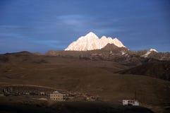 Гора снега Стоковые Фото