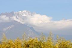 Гора снежка дракона нефрита Стоковое Фото