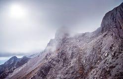 Гора снежка дракона нефрита Стоковая Фотография RF