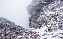 Гора снежка дракона нефрита Стоковое Изображение RF