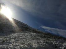 Гора снежка стоковые изображения rf