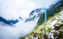 Гора снежка стоковая фотография