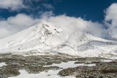 Гора снежка Стоковое Фото