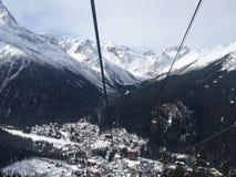 Гора снежка стоковые фото