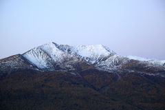Гора снежка Стоковые Фотографии RF