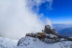 Гора снежка Yulong Стоковое Фото