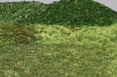 Гора сломленного стекла Стоковое фото RF