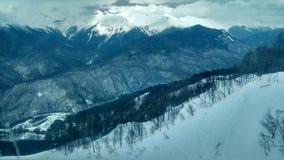 Гора с снежком Стоковое Фото