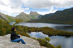 гора Тасмания вашгерда стоковые изображения rf