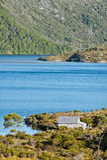 гора Тасмания озера dove вашгерда стоковая фотография rf