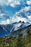 Гора тетеревиных в Ванкувере ДО РОЖДЕСТВА ХРИСТОВА Канаде Стоковые Изображения RF