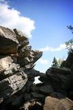 Гора трясет Taganay Стоковое Изображение RF