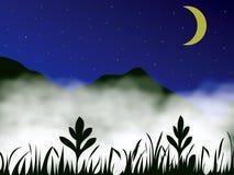 гора тумана Стоковая Фотография RF
