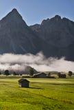 гора тумана Стоковое Изображение