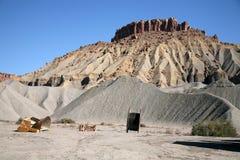 Гора утеса и песка, Юта, США Стоковые Фото