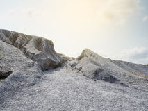 гора утесистая Стоковые Фотографии RF