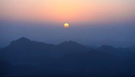 гора утра стоковое изображение